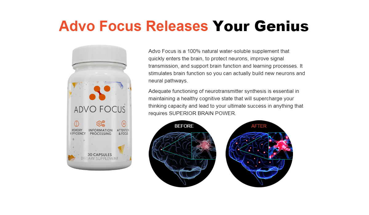 "Advo Focus Brain Pills ""100% Legit Brain Pills"" Does Its Really Works?"