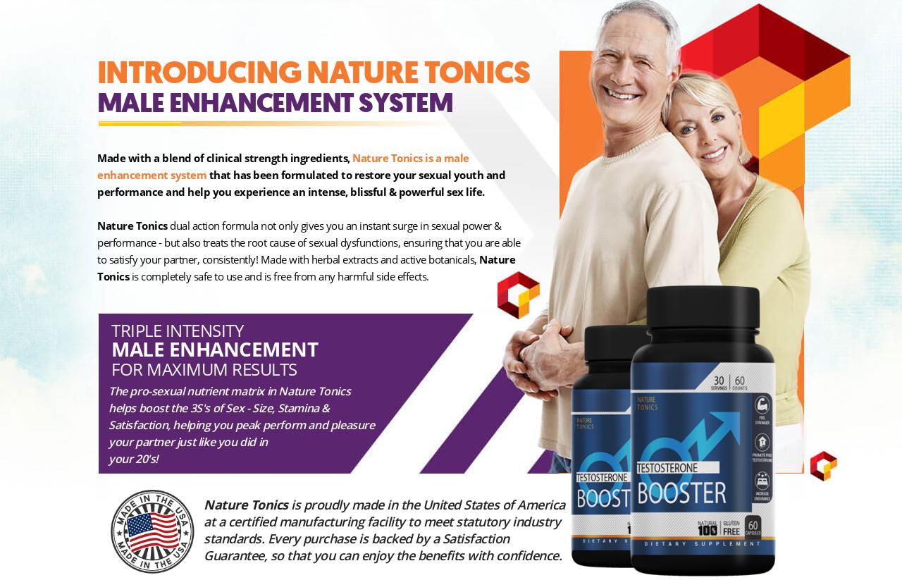 Nature Tonics Male Enhancement® *UPDATE 2021* Return Your Sex Life!