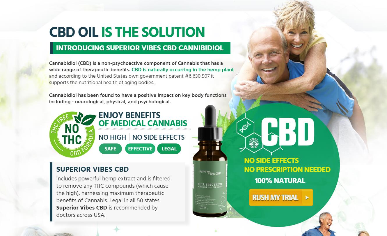 """Superior Vibes CBD Oil® *100% Legit SuperiorVibes CBD* """"Pros & Cons"""""""