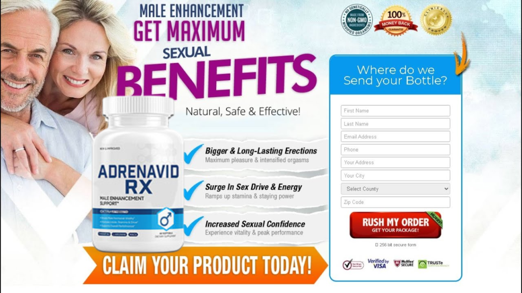 "Adrenavid Rx® ""Pros & Cons"" Maximum Pleasure & Intensified Orgasms!"