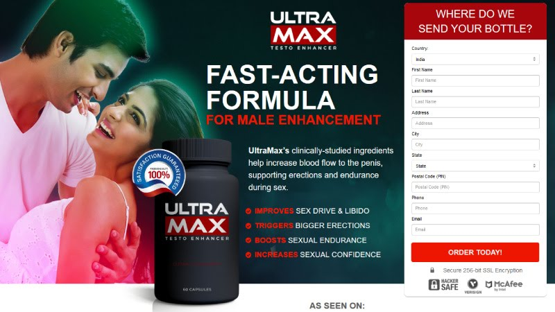 UltraMax Rise Male Enhancement® Rapid Absorption Technology!