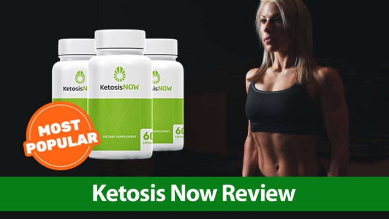 Ketosis NOW Review For Fitness