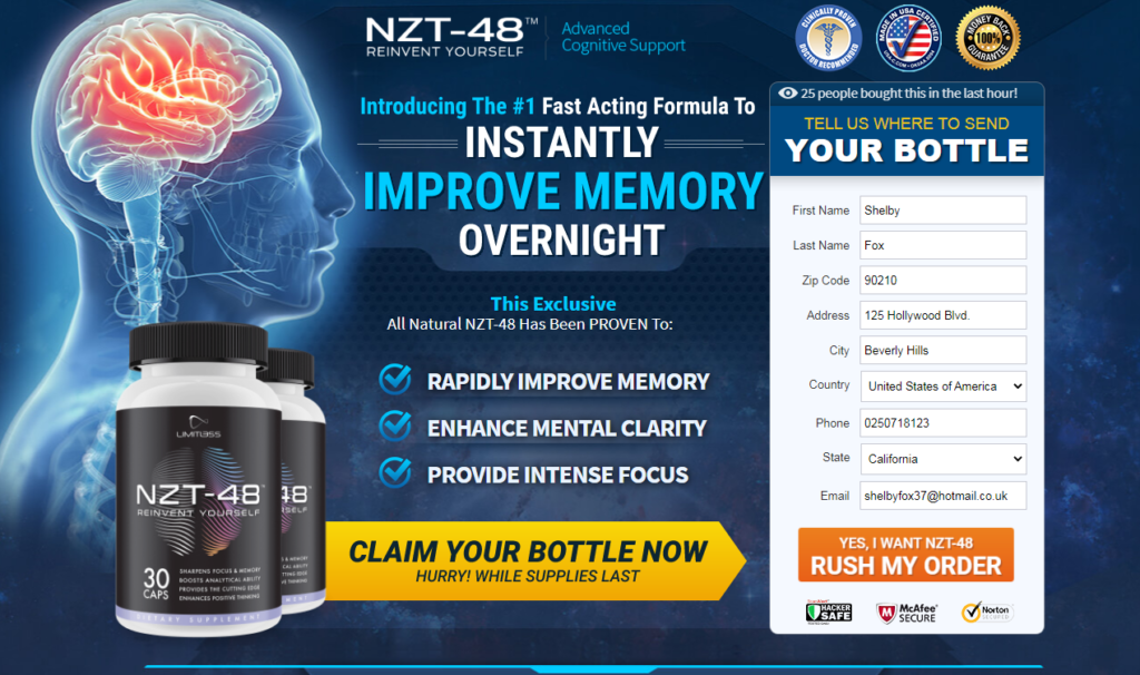 Nzt-48 Limitless Pill *100% Legit Nzt-48 Limitless Pills Reviews* Scam?