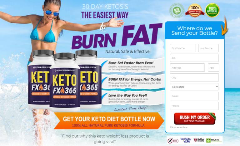 Keto FX 365 *UPDATE 2021* Price, Scam, Ingredients, Benefits, Reviews?