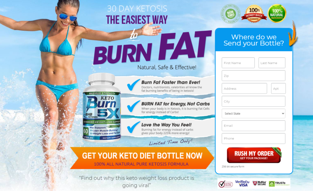 Keto Burn 5X - Shark Tank (Upgrade 2021) Does Its Really Works?