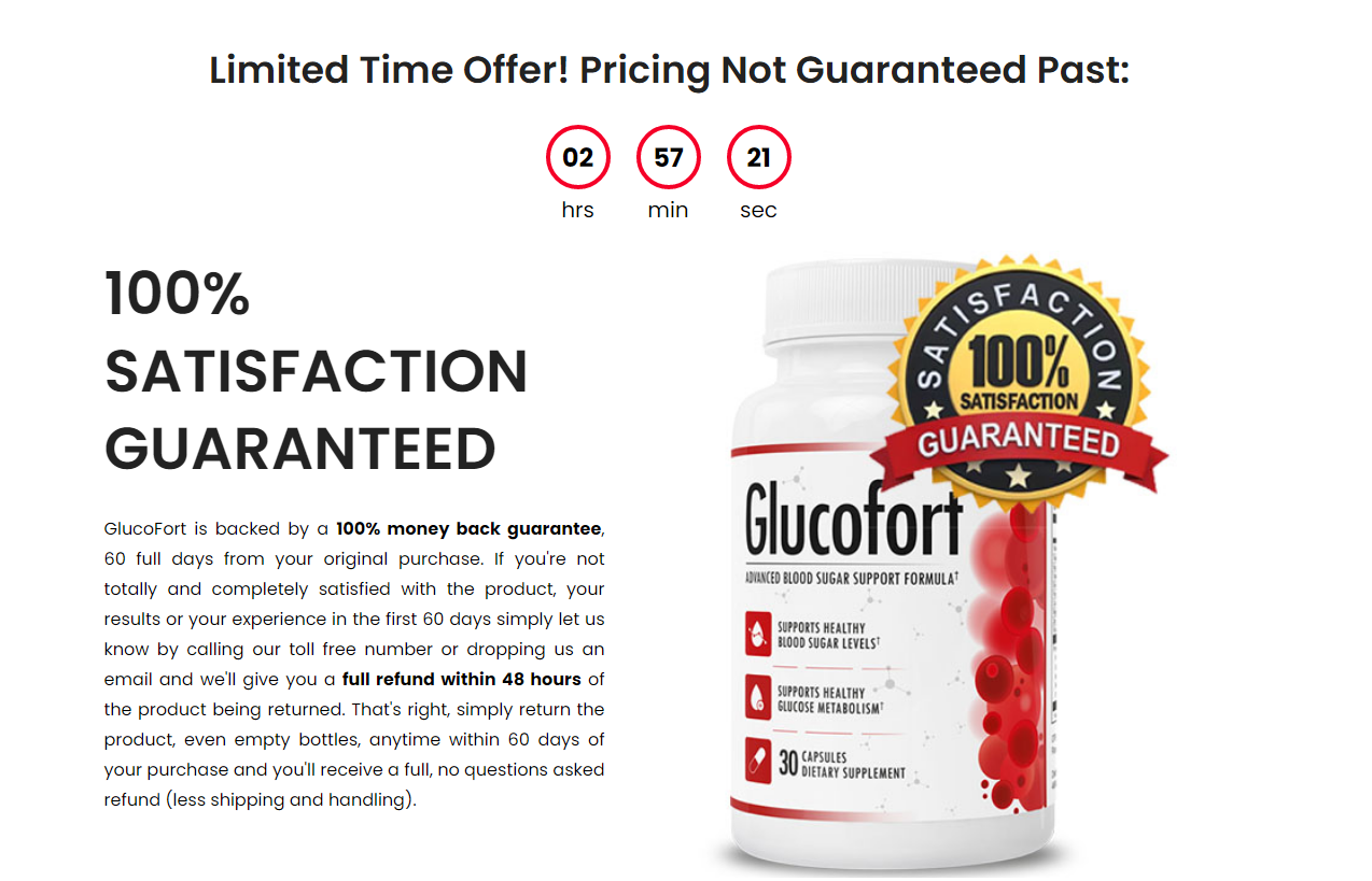 Glucofort Reviews *Modify 2021* Price, Ingredients, Benefits, Reviews?