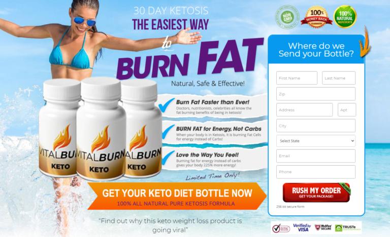 Vital Burn Keto® | Shark Tank (UPDATE 2021) Does Its Really Works?