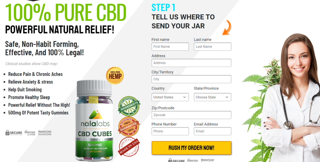 """Nala Labs CBD Gummies """"RESULTS & REVIEWS"""" Its Really Works?"""