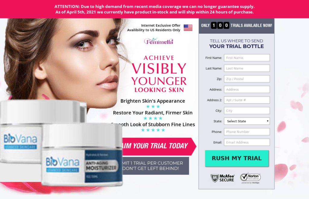 BioVana Cream | 100% Legit BioVana Skincare Cream | Results & Scam?