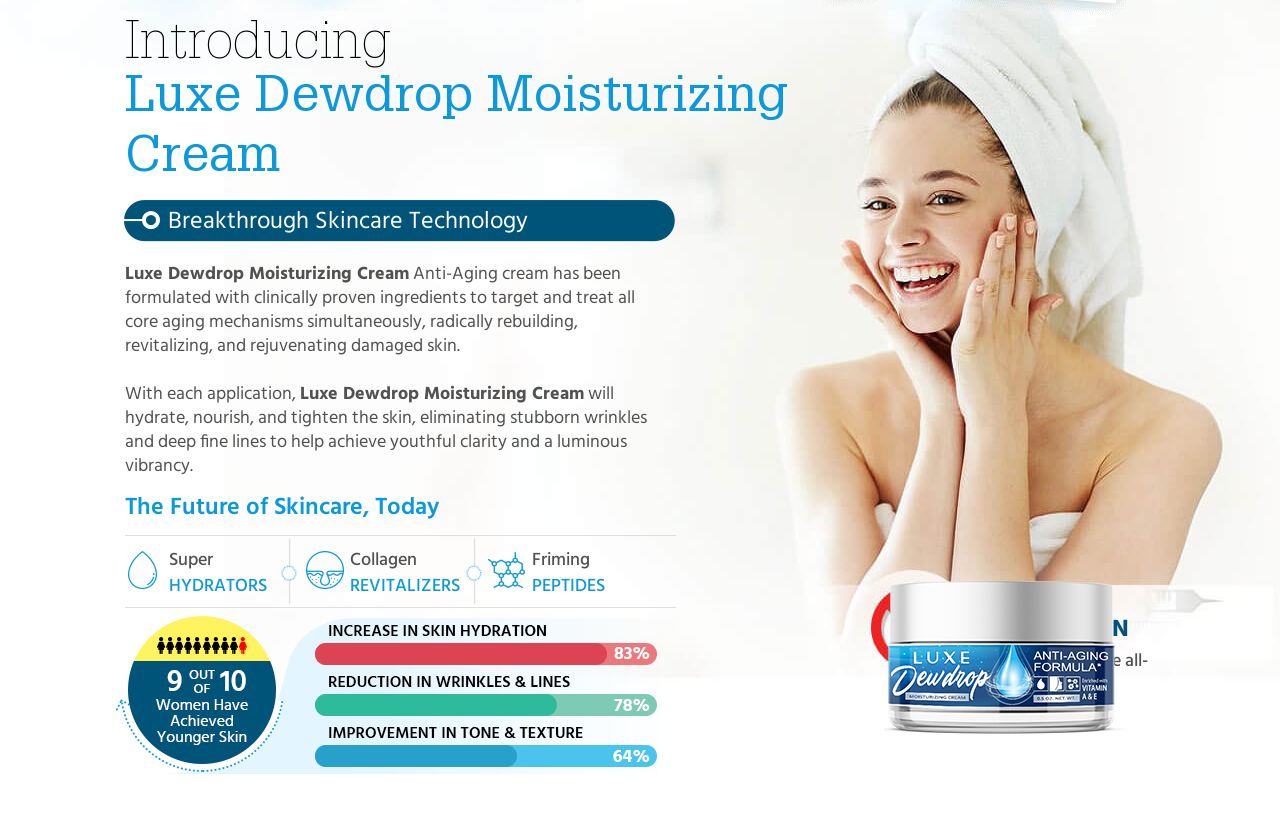 Luxe Dewdrop Anti Aging Formula [Modify 2021] Does Its Really Works?