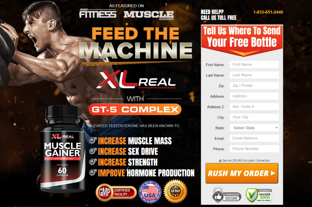 XL Real Muscle Gainer Reviews - MORE THAN JUST TESTO SUPPORT