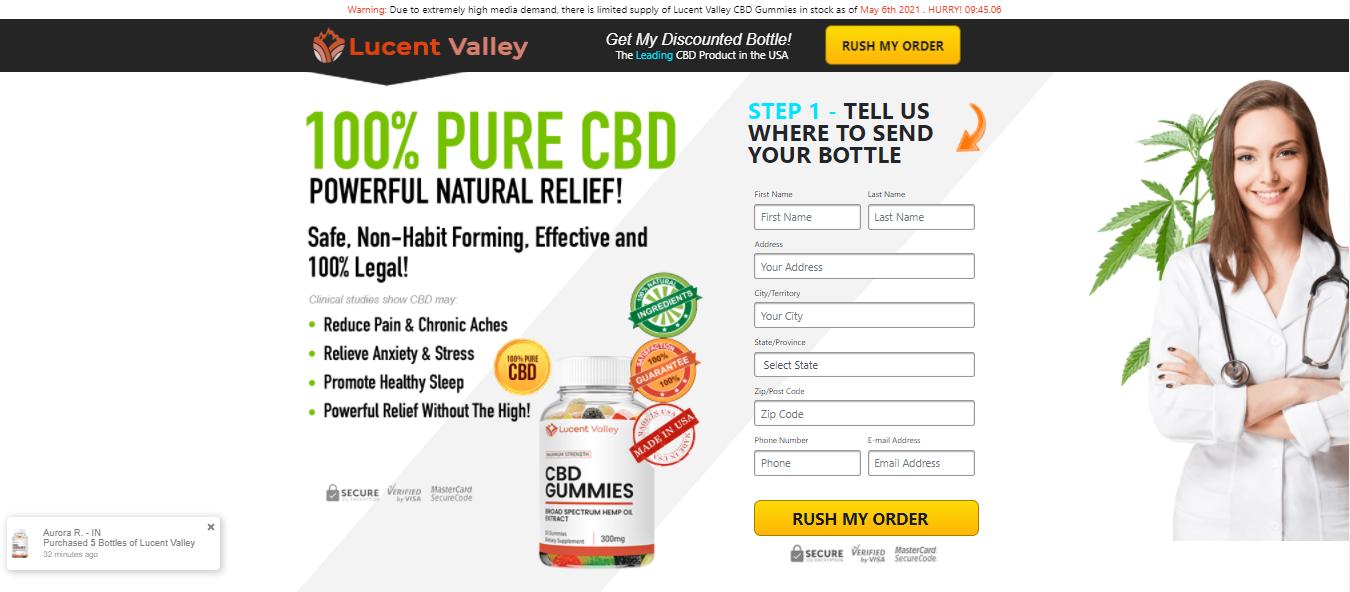Lucent Valley CBD Gummies Reviews - Price, Benefits, Ingredients?