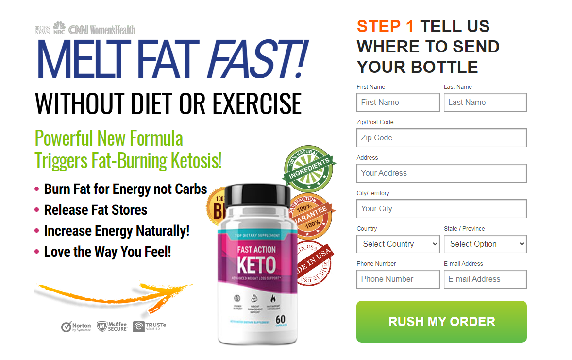 Fast Action Keto | World #1 Weight Loss Diet Formula | Scam or Legit?