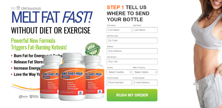 """One Shot Max Keto """"Pros & Cons"""" Benefits, Ingredients, Reviews?"""