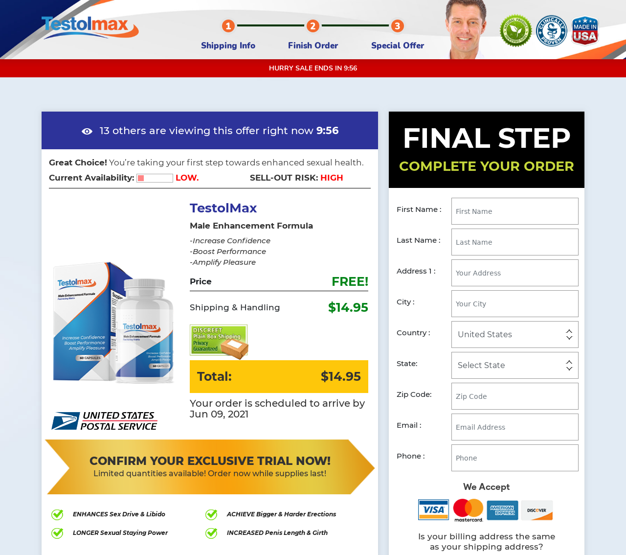"Testolmax ""2021"" Ingredients, Benefits, Scam, Ingredients, Reviews?"