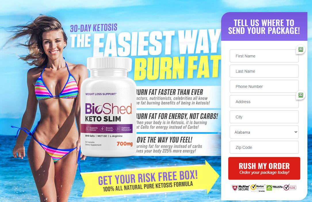 BioShed Keto Slim - Benefits, Ingredients, Scam, Side Effects, Reviews?
