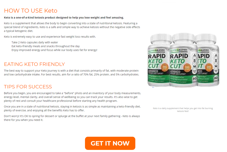 "Rapid Keto Cut ""100% LEGIT REVIEWS"" Ingredients, Benefits, Price?"