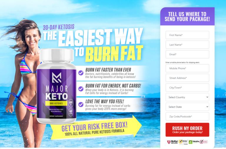 Major Keto BHB Ketones – Benefits, Ingredients, Works, Price, Reviews?