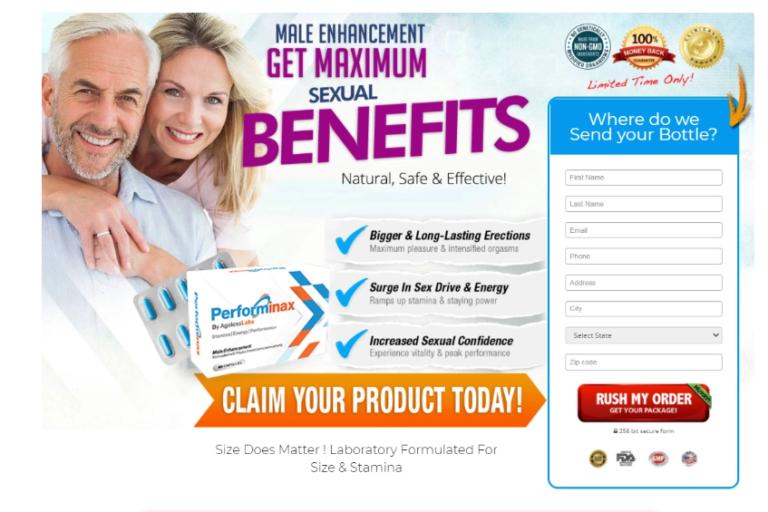 Performinax Male Enhancement – Benefits, Ingredients, Scam, Reviews?