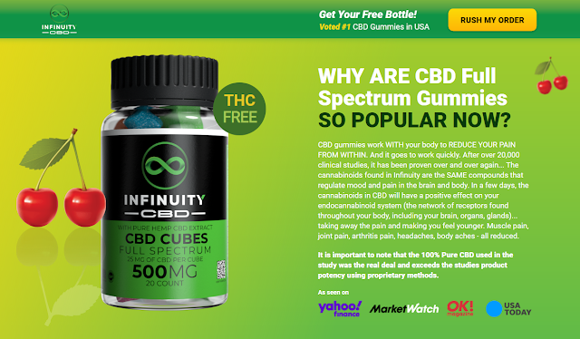 Infinuity CBD Cubes Reviews (Modify 2021) Does Its Really Works?