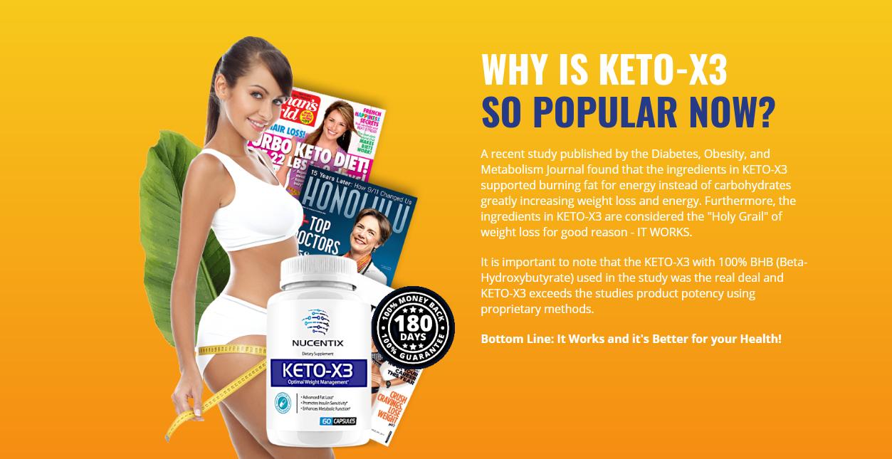 Keto X3 | Shark Tank *Modify 2021* 100% Legit Nucentix Keto-X3?