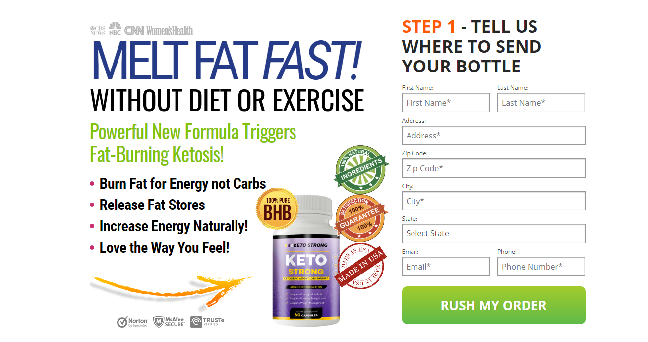 """Strong Keto {DON""""T BUY BEFORE READ} Scam or Legit Worth It?"""