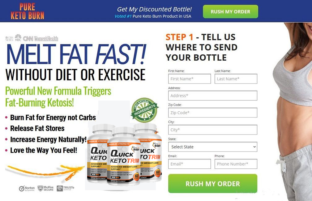 Quick Keto Trim Reviews - Real Weight Loss Pills or Negative!