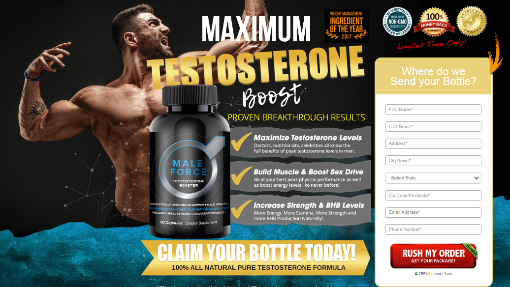 Male Force Testosterone Booster (Modify 2021) Its Really Works?