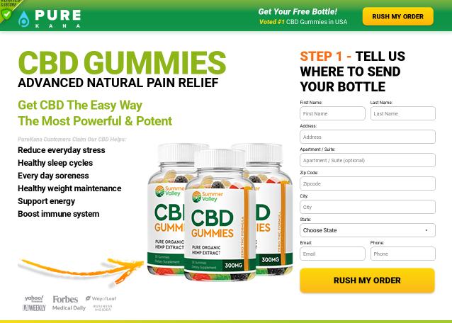 Summer Valley CBD Gummies – Benefits, Scam, Price, Reviews?